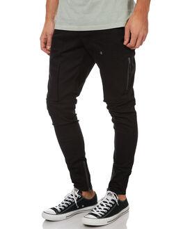 BLACK MENS CLOTHING ZANEROBE PANTS - 703-WANBLK