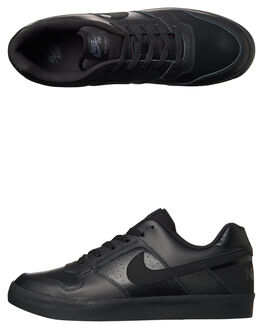 BLACK ANTHRACITE MENS FOOTWEAR NIKE SKATE SHOES - 942237-002