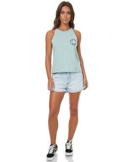 BALTIC SEA WOMENS CLOTHING RUSTY SINGLETS - TSL0530BAS