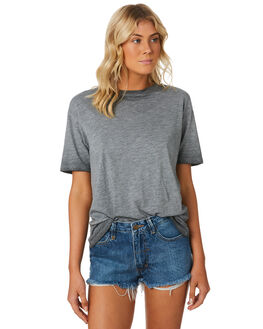 WASHED GREY WOMENS CLOTHING SWELL TEES - S8184006WSHGY