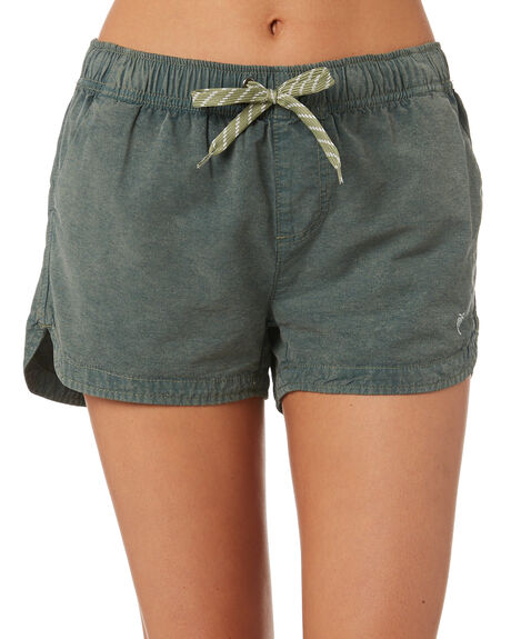 WASHED ARMY WOMENS CLOTHING SWELL SHORTS - S8189231WSHAY