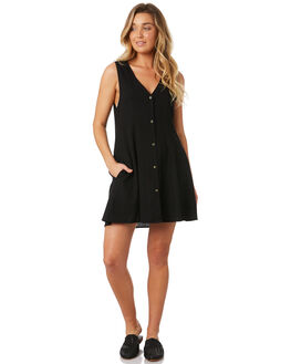 BLACK WOMENS CLOTHING ROLLAS DRESSES - 12815-100
