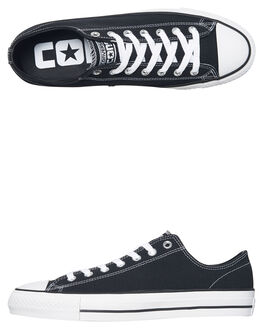 BLACK WHITE MENS FOOTWEAR CONVERSE SNEAKERS - 159576BLK