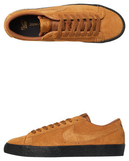 LT BRITISH TAN MENS FOOTWEAR NIKE SKATE SHOES - 864347-200