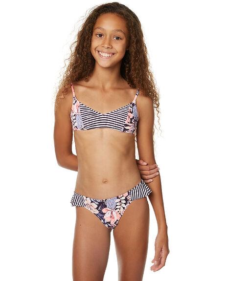 Billabong Kids Girls Wonderland Triangle Bikini Persian