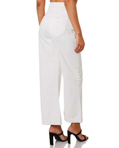 VINTAGE WHITE WOMENS CLOTHING ROLLAS JEANS - 13331-006