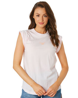 PALE PINK WOMENS CLOTHING C&M CAMILLA AND MARC SINGLETS - VCMT6992PPNK