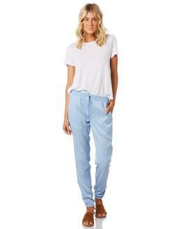 CHAMBRAY WOMENS CLOTHING SWELL PANTS - S8171195CHAMB