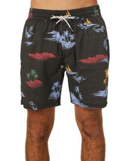 BLACK ISLANDS MENS CLOTHING BARNEY COOLS BOARDSHORTS - 806-Q120BLKIS