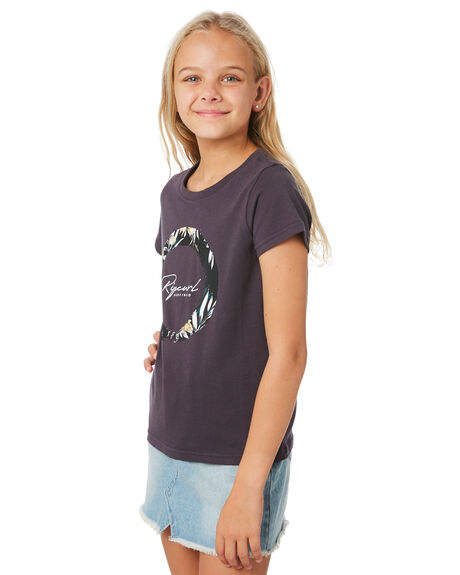 NINE IRON KIDS GIRLS RIP CURL TOPS - JTEEI14285