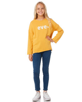 AMBER KIDS GIRLS EVES SISTER JUMPERS + JACKETS - 9530023YLW