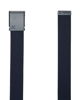 TRUE NAVY MENS ACCESSORIES HURLEY BELTS - AMTBTWBTNV