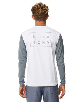WHITE SURF RASHVESTS BILLABONG MENS - 9772025WHT