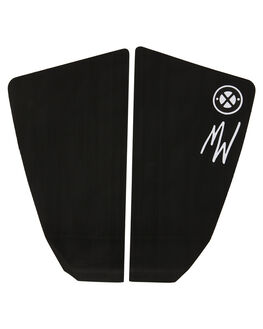 BLACK BOARDSPORTS SURF DREDED TAILPADS - DRPRO-MWFGBLK