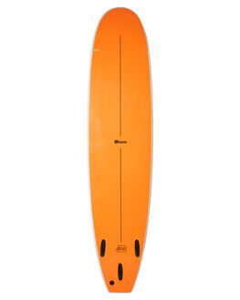 WHITE FLURO ORANGE BOARDSPORTS SURF FOAMIE SOFTBOARDS - F8WWWHFOR