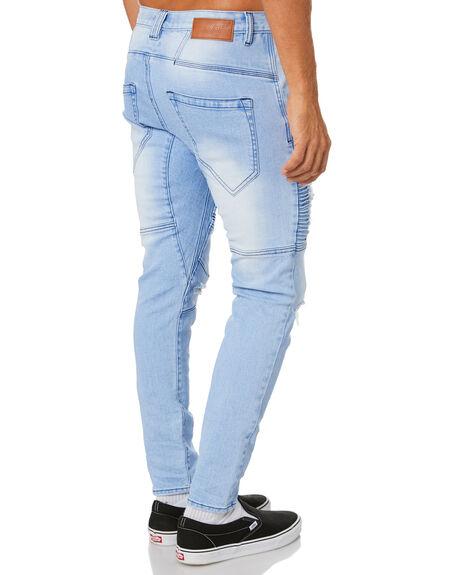 ALASKAN BLUE MENS CLOTHING NENA AND PASADENA JEANS - NPMSFP002ALBL