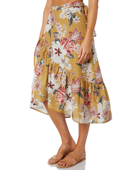 GOLDEN LILY WOMENS CLOTHING O'NEILL SKIRTS - 6421613GDL