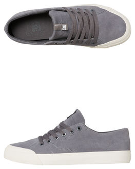 GREY MENS FOOTWEAR DC SHOES SKATE SHOES - ADYS300487GRY
