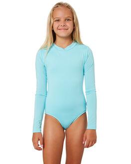 AQUAMARINE KIDS GIRLS SEAFOLLY SWIMWEAR - 15606AQUA
