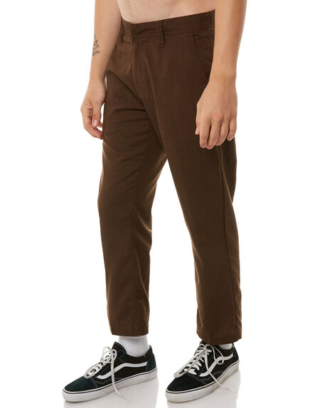 DARK CHOCOLATE OUTLET MENS VOLCOM PANTS - A1111850DCH
