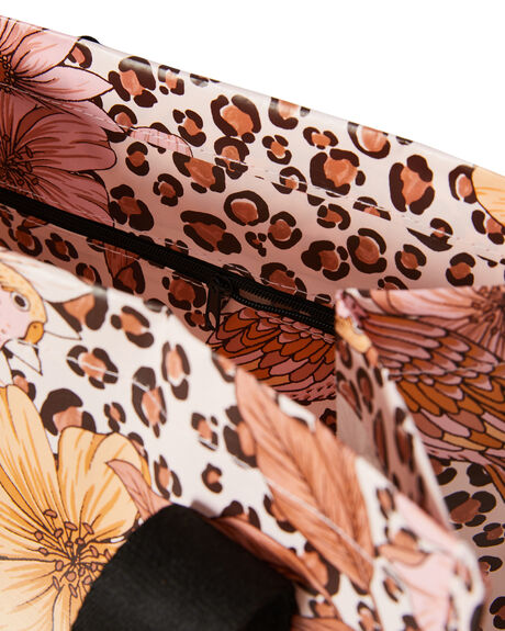 LEOPARD FLORAL WOMENS ACCESSORIES KOLLAB BAGS + BACKPACKS - P-MB-LEO
