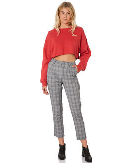 CHERRY WOMENS CLOTHING A.BRAND JUMPERS - 71440-2873