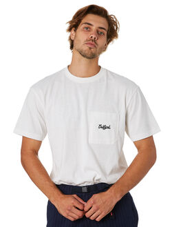 OFF WHITE MENS CLOTHING THE CRITICAL SLIDE SOCIETY TEES - TE18251OFWHT