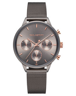 GREY WOMENS ACCESSORIES PAUL HEWITT WATCHES - PH-E-GRM-GRM-52SGRY
