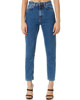 FRIENDLY BLUE WOMENS CLOTHING NUDIE JEANS CO JEANS - 113289FRDBL