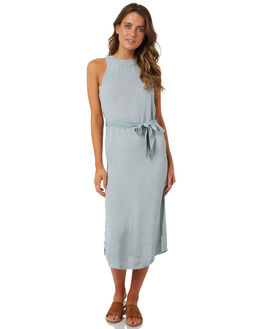 CLOUD BLUE WOMENS CLOTHING BILLABONG DRESSES - 6585473CLOUD