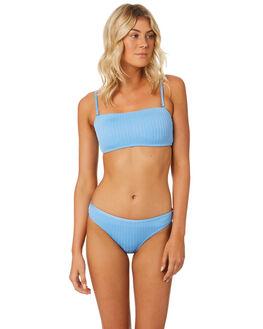 BLUE WOMENS SWIMWEAR SWELL BIKINI TOPS - S8184332BLUE