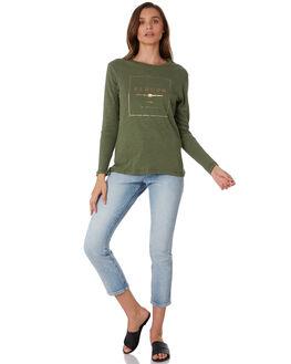 KHAKI WOMENS CLOTHING ELWOOD TEES - W92110350