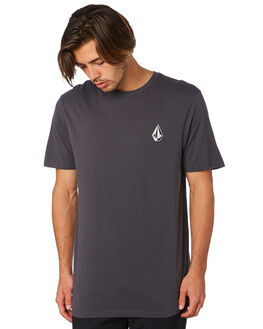 ASPHALT BLACK MENS CLOTHING VOLCOM TEES - A5011976ASB