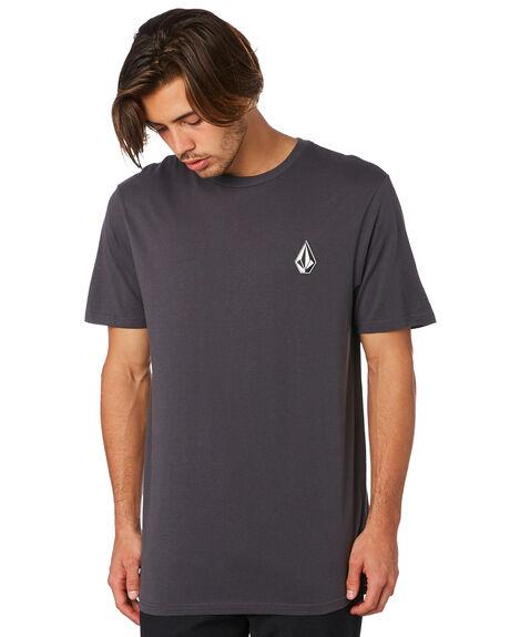 ASPHALT BLACK MENS CLOTHING VOLCOM TEES - A5011976ASB