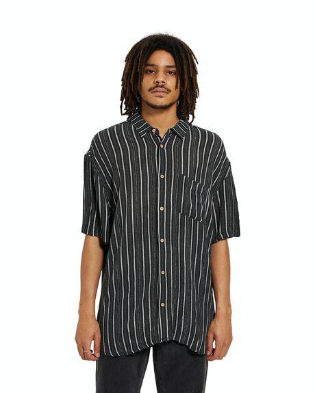 BLACK MENS CLOTHING INSIGHT SHIRTS - 37357900026
