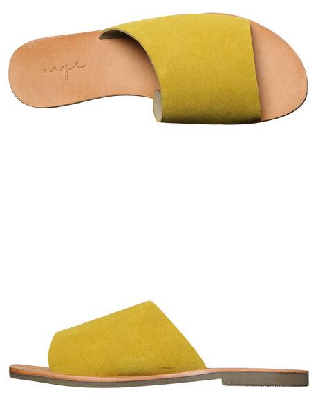 YELLOW WOMENS FOOTWEAR URGE FASHION SANDALS - URG17062YEL