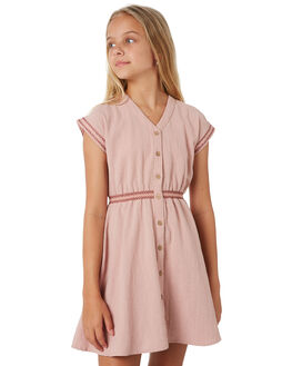 PINK NECTAR KIDS GIRLS RUSTY DRESSES + PLAYSUITS - DRG0009PKNCT