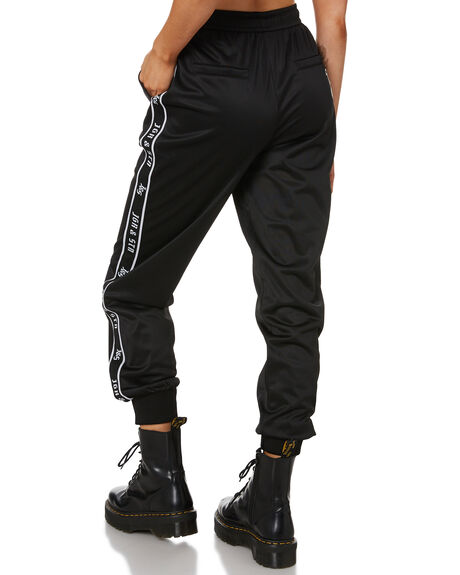 BLACK WOMENS CLOTHING JAGGER AND STONE PANTS - JS147BLK