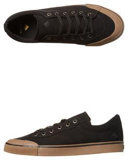 BLACK GUM MENS FOOTWEAR EMERICA SKATE SHOES - 6101000102-964