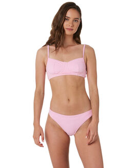 PINK WOMENS SWIMWEAR ZULU AND ZEPHYR BIKINI SETS - ZZ2998PNK