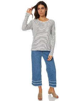 STRIPE WOMENS CLOTHING SWELL TEES - S8172101STR