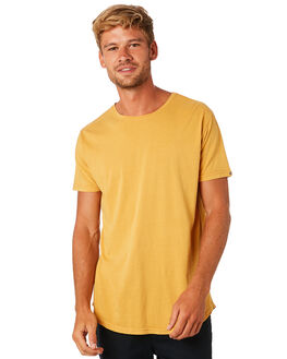 MUSTARD MENS CLOTHING SILENT THEORY TEES - 40X0018YLW