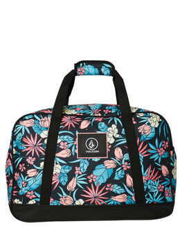 BLACK COMBO WOMENS ACCESSORIES VOLCOM BAGS + BACKPACKS - E6631879BLC