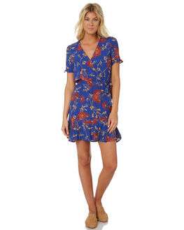FLORAL WOMENS CLOTHING SWELL DRESSES - S8188442FLORL