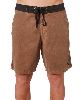 BONE BROWN MENS CLOTHING AFENDS BOARDSHORTS - M184306BNBRN