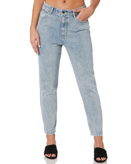 STONE BLUE WOMENS CLOTHING RUSTY JEANS - PAL1120SNL