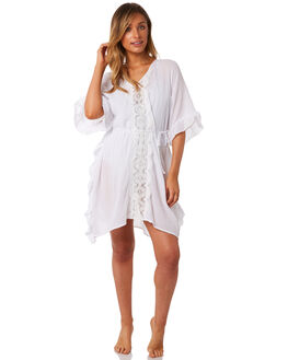 WHITE WOMENS CLOTHING SEAFOLLY FASHION TOPS - 53422-KAWHT