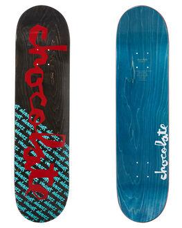 MULTI BLUE BOARDSPORTS SKATE CHOCOLATE DECKS - CB3600MULTI