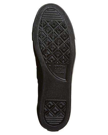 BLACK MONO WOMENS FOOTWEAR CONVERSE SNEAKERS - 535413BKMO