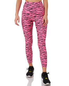 ROSA SHOCKING ZEBRA WOMENS CLOTHING LORNA JANE ACTIVEWEAR - 111917ROS